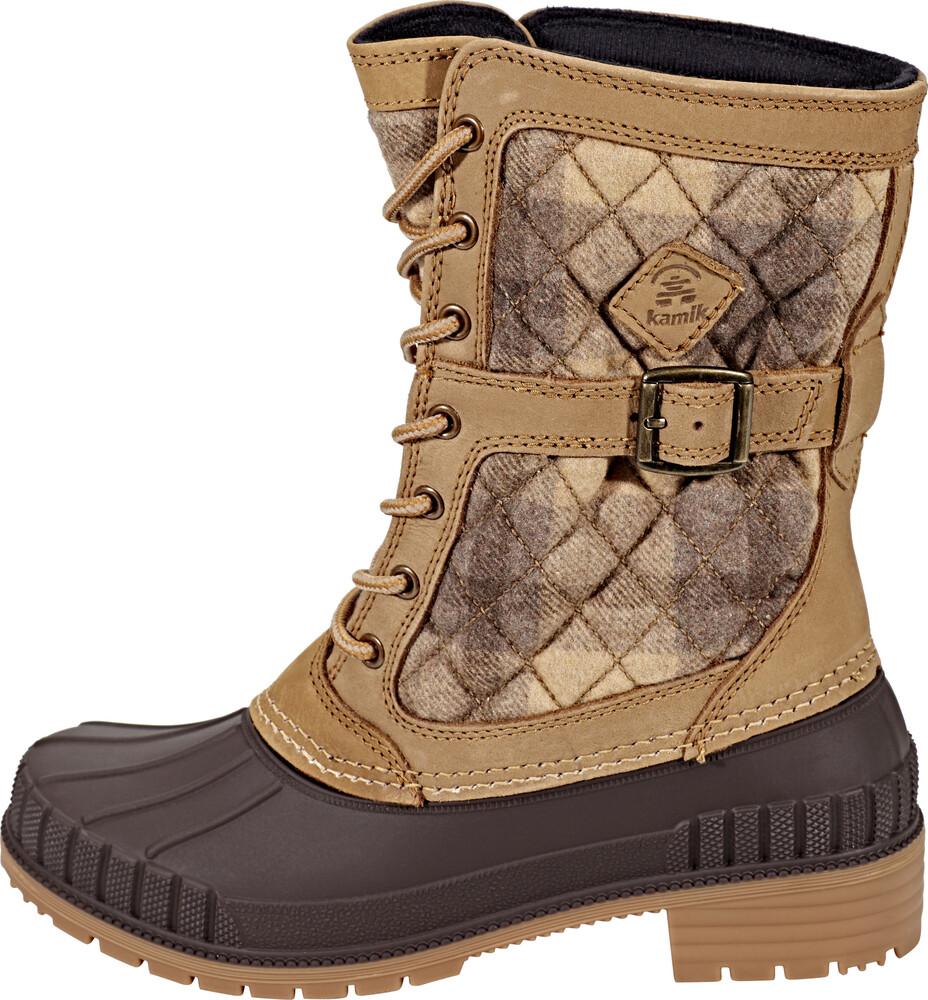 Kamik - Vallée De La Neige Des Femmes - Chaussures D'hiver Taille 9 Noir MEe0EIt6